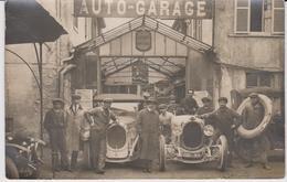 BELLE CARTE PHOTO AUTO GARAGE  CHENARD ET WALCKER GROS PLAN - Cartes Postales