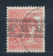 Duitsland/Germany All. Bezetting/ All Occupation Bizone 1948 Mi: 46 I Yt: 31 II (Gebr/used/obl/o)(5165) - American/British Zone
