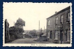 Gives (Bertogne).  Grand'Route. Café Des Ardennes. Pub Bières Piedboeuf - Bertogne
