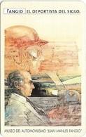 Argentina - Telefónica - Juan Manuel Fangio Cars 1/8, 07.1999 - 50.000ex, Used - Argentina