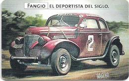 Argentina - Telefónica - Juan Manuel Fangio Cars 3/8, 07.1999 - 50.000ex, Used - Argentine