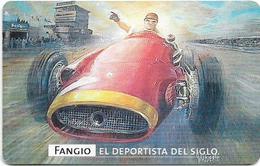 Argentina - Telefónica - Juan Manuel Fangio Cars 8/8, 07.1999 - 50.000ex, Used - Argentinien