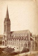 Photo Ancienne (sans Carton) - Caen - La Cathédrale  (dim 17x12 Cm) - Antiche (ante 1900)