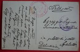 PULA - POLA , ARENA CON MONUMENTO IMPERATRICE ELISABETTA, K.U.K.TORPEDO-DEPOT SCHIFF - KRIEGSMARINE 1915 - Croatia