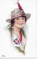 Illustrateur Vivian MANSELL  Carte Patriotique ITALY Italie   ...G - Illustrateurs & Photographes