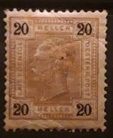 OSTERREICH AUSTRIA AUTRICHE 1904, Yvert No 87, 20 H Brun , Neuf ** MNH Cote 115 Euros - Neufs