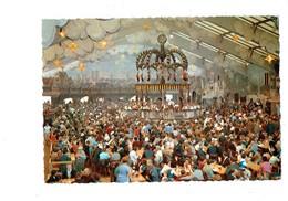 Cpm - Allemagne - MUNICH - MUNCHEN OKTOBERFEST - Fête Bière Buveurs Chope Musique Orchestre Musiciens Tonneau - Réceptions