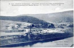 FUMAY - Société Anonyme Des Ardoisières Saint-Lambert Et Belle-Rose - Oblitération De 1925 - Fumay