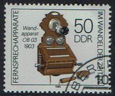 DDR 1989, Mi Nr 3228, Gef.gestempelt - DDR