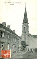 N°2904 T -cpa Saint Mars Sur Colmont- L'église- - Frankrijk