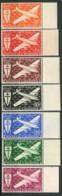 NOUVELLE-CALEDONIE ( AERIEN ) : Y&T  N°  46/52  TIMBRES  NEUFS  SANS  TRACE  DE  CHARNIERE , A  VOIR . - Airmail