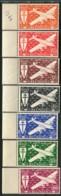 REUNION ( AERIEN ) : Y&T  N°  28/34  TIMBRES  NEUFS  SANS  TRACE  DE  CHARNIERE , GOMME  BICOLORE , A  VOIR . - Réunion (1852-1975)