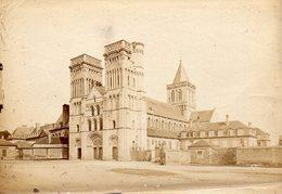 Photo Ancienne (sans Carton) - Caen - L ' Abbaye Aux Dames (dim 17x12 Cm) - Antiche (ante 1900)