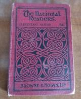 1906 NATIONAL READERS Brown & Nolan's ENGRAVINGS Series Rare ELEMENTARY READER  L'ÉCOLE DE LA SÉRIE - Educación