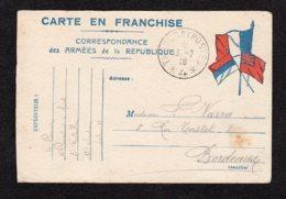 Trésor Et Postes 4 écrite Du 13.7.1916 Lot 12 - Guerre De 1914-18