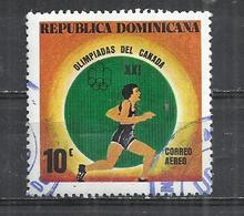 DOMINICAN REPUBLIC 1976 - OLYMPIC GAMES - USED OBLITERE GESTEMPELT USADO - Verano 1976: Montréal