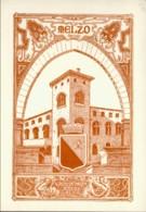1967-cartolina Illustrata Melzo II Mostra Filatelica Volo Con Aerostato Del 25 Aprile Melzo Sulbiate Sup. - 6. 1946-.. Repubblica