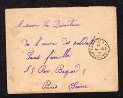 Trésor Et Postes N°24 Du 24-4-1916 Lot 34 - Guerra Del 1914-18