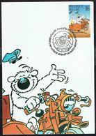 """COB N° 2578 Sur 1 Carte-max - Philatélie De La Jeunesse - BD CUBITUS - Obl. """"SAINT-MARD - 8.10.1994"""". - 1991-2000"""