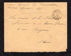 Trésor Et Postes N° 135 Du 21-9-1916 Lot 58 - Guerra Del 1914-18