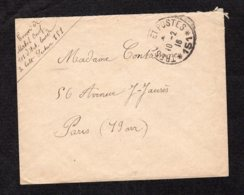 Trésor Et Poste N°151 Du 10-2-1916 Lot 72 - Guerra Del 1914-18