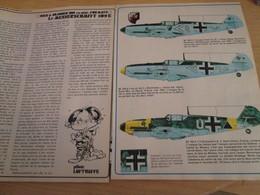 SPI2020 4 Pages Issues De SPIROU Années 80 /  LE MESSERSCHMITT 109E - Revues