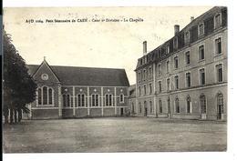 CAEN - Petit Séminaire - Cour 2e Division - Chapelle - Dubosq éditeur - VENTE DIRECTE X - Caen