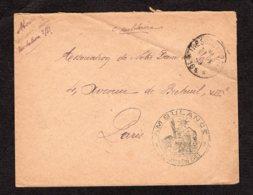 Trésor Et Postes N° 184de 1915 Lot 100 - Postmark Collection (Covers)