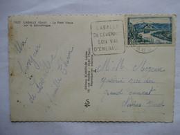LASALLE   (  EN  CEVENNES     .......     )             TTB - Marcophilie (Lettres)