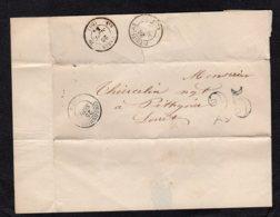 Lettre  Coulommier De 1853 Lot 145 - 1849-1876: Periodo Classico