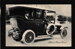 Austria-Kaiser Franz Joseph Limosine 1910s - Antique Postcard - Austria