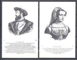 CPA Couples Royaux Français François I Er Et Claude De France - History
