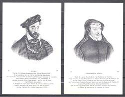 CPA Couples Royaux Français Henri II Et Catherine De Médicis - History