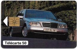 France - Mercedes Classe C Car, 50Units, 02.1992, 6.224ex, Exp.06.1993, Used - Privat