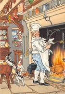 Illustrateur - M. Barré & J. Dayez - Cuisinier - Humour - N° 1467 B - Illustratoren & Fotografen