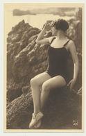 Femme En Maillot De Bain...editeur AN 411 - Bellezza Femminile Di Una Volta < 1920