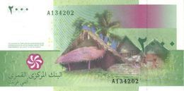 COMOROS P. 17b 2000 F 2016 UNC - Comore