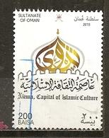 Oman 2015 Islamic Culture Obl - Oman
