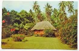 C. P. A. : TAHITI : Un Bungalow Tahitien Entouré De Verdure Et De Fleurs Toute L'année - Tahiti