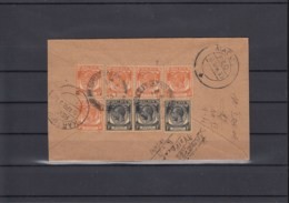 Malaya Michel Cat.No.  Straits Settlement Cover Reco To India - Straits Settlements