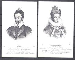CPA Couples Royaux Français Henri III Et Louise De Lorraine - Histoire