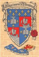 Illustrateur - M. Barré & J. Dayez - Les Blasons Des Vieilles Corporations - Imprimeurs-Libraires - N° 1306 V - Künstlerkarten