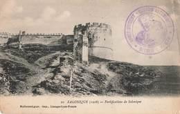 Cachet Militaire Guerre 1914 1918 Armée D' Orient Convois Automobiles Section 678 Sur Cpa 1916 Salonique - Poststempel (Briefe)