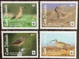 Cook Islands 2017 WWF Birds MNH - Vögel