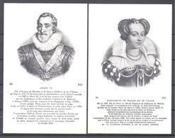 CPA Couples Royaux Français Henri IV Marguerite De France Et Marie De Médicis - Histoire