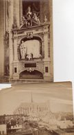 2 Photos Anciennes (sans Carton) - Amiens - La Cathédrale / Tombeau Guillin Lucas , Ange Pleureur (dim 18x12 Cm) - Anciennes (Av. 1900)