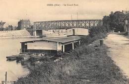 Creil Chalbrette Bateau Lavoir - Creil