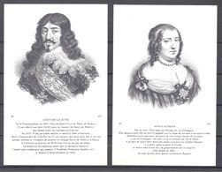 CPA Couples Royaux Français Louis XIII Et Anne D'Autriche - Histoire