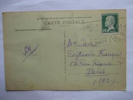 CHATELAILLON      ( .......STATION DE SANTE   )       TTB - Storia Postale
