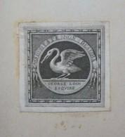 Ex-libris Héraldique XVIIIème - George LOCH - Ex-libris